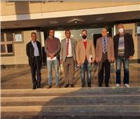 رئيس جامعة أسوان يتفقد المشروعات القومية تمهيدًا لافتتاحها