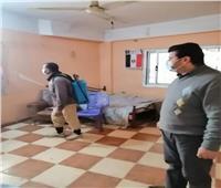 راضى عمار: مستمرون في رش وتعقيم الشوارع بكافه قرى تلا
