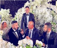 نادر حمدي يعقد قرانه على سارة حمدي