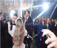 نجوم الفن والمشاهير يحتفلون بزفاف نادر حمدي وسارة حسني |صور