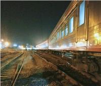 إخلاءالقطار المعطل بطنطا وتوفير بديللنقل الركاب