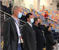 وزير الرياضة يشيد بالأداء البطولي للمنتخب رغم الهزيمة من السويد