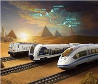 القطار الكهربائى| سافر من المهندسين للعلمين الجديدة في أقل من ساعتين