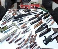 ضبط 13 متهم بحوزتهم أسلحة بيضاء بالإسماعيلية