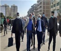 محافظ بورسعيد في جولة تفقدية لتطوير حي المناخ
