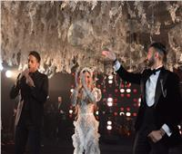 بالصور.. حماقي يتألق فى حفل زفاف نادر حمدي