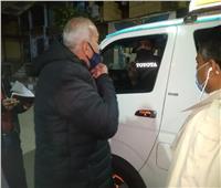 حملة «ليلية» بالبر الغربي للأقصر.. وتحرير 21 محضر عدم إرتداء كمامة