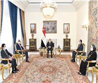 الرئيس السيسي يبحث سبل تفعيل اتفاقية التجارة الحرة القارية الأفريقية