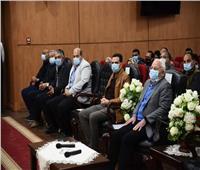 محافظ بورسعيد يستعرض أعمال لجنة التصالح فى مخالفات البناء