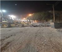 حملة نظافة مكبرة لرفع المخلفات من شوارع إسنا