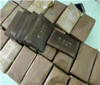 ضبط 12 طربة من مخدر الحشيش بحوزة ٣ أشخاص بالقليوبية