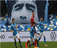 نابولي يسحق فيورنتينا بسداسية في «الكالتشيو».. فيديو