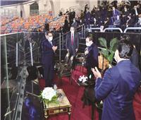 وزير الرياضة: تعلمنا التحدى من القيادة السياسية.. وكلمة الرئيس السيسى قاعدتنا للنجاح دائماً