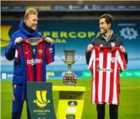 بث مباشر  مباراة برشلونة وأتلتيك بيلباو في نهائي السوبر الإسباني