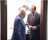 «أبو مازن» يشكر الرئيس السيسي على مواقف مصر تجاه القضية الفلسطينية |صور