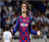 نهائي السوبر الإسباني| جريزمان يسجل هدف برشلونة الثاني على بيلباو