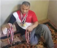 بطل الجمهورية لألعاب القوى: بعت 23 ميدالية ذهبية وفضية عشان اصرف على بناتي