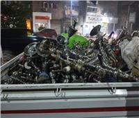 نائب محافظ القاهرة: مصادرة 2000 «شيشة» بأحياء المنطقة الجنوبية