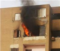 إخماد حريق نشب في شقة سكنية بالوراق