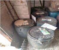 ضبط 2.942 طن مواد غذائية فاسدة في حملات تفتيشية بالغربية