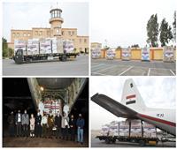 بتوجيهات من الرئيس السيسي.. مصر ترسل طائرة مساعدات طبية للأردن «فيديو»