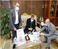 إطلاق مبادرة لدعم القطاع الطبي بالتعاون مع الهلال الأحمر بالمنوفية