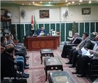 محافظ المنيا يتابع تنفيذ قرارات مجلس الوزراء في مواجهة «كورونا»