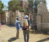 تطهير٤٤ جمعية زراعية بالمنيا وتوزيع منشورات توعية لمواجهة «كورونا»