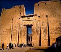 معالم تاريخية | تعرف على كنوز معبد إدفو «معبد حورس» بأسوان