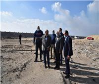 محافظ بورسعيديتفقد أعمال إنشاء مصنع انتاج إطارات السيارات