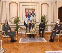 وزير الدفاع ورئيس الأركان يلتقيان رئيس هيئة الأركان للقوات المسلحة اليونانية | فيديو