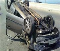 إصابة 12 عاملا زراعيا بالإسماعيلية إثر انقلاب سيارتهم