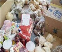ضبط 44 كيلوجرام أغذية فاسدة وتحرير 22 محضرا في بني سويف