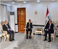 وزير الخارجيّة العراقي يستقبل السفير المصري بعد انتهاء مهام عمله