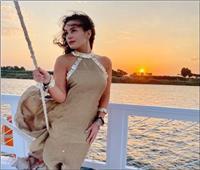 هند صبري تروج للسياحة من أسوان: زوروا مصر
