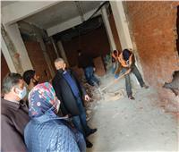 صور| إغلاق مركز دروس خصوصية بالإسكندرية