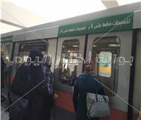 مترو الأنفاق: غير مسموح بدخول أي راكب المحطات والقطارات بدون الكمامة