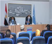 محافظ الإسكندرية: اشتراطات جديدة تضمن حق المحافظة لاستغلال الملاعب