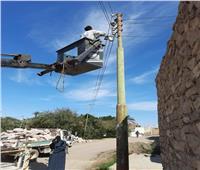 صيانة أعمدة الإنارة و محول كهرباء الأعقاب بأسوان