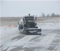تطهير مطارات روسيا العسكرية من الثلوج بـ«ثعبان جورينيش»
