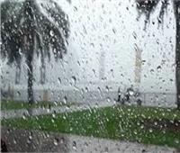 مناطق سقوط الأمطار المتوقعة على مدار اليوم