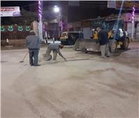 رئيس مدينة طهطا تقود أول حملات النظافة والتجميل  بالمدنية