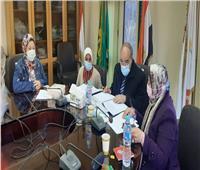 فريق محاكاة يزور «تمريض بنها» استعدادا لتجديد الاعتماد الأكاديمى