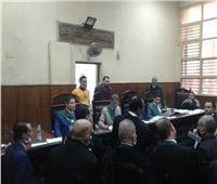لظروف أمنية.. حضرت هيئة المحكمة وتعذر المتهمين في أحداث العدوة بالمنيا