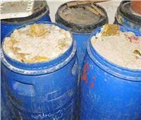 ضبط 5 أطنان مخلل داخل مصنع بدون ترخيص في المنوفية
