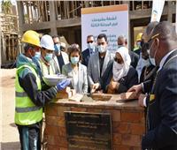 وضع حجر الأساس لـ4 مدارس ومركز شباب في أسوان