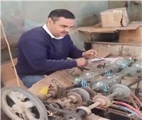 مصانع زجاج سرس الليان «تكسر» البطالة.. فيديو وصور