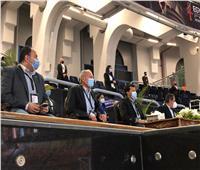 وزير الرياضة ورئيس الاتحاد الدولي لليد يشهدان مباراة أنجولا واليابان