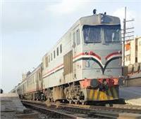 إخماد حريق بعربة قطار مواد بترولية بسكة حديد سوهاج