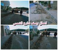 شارع الشمس.. محور مروري جديد في الهرم